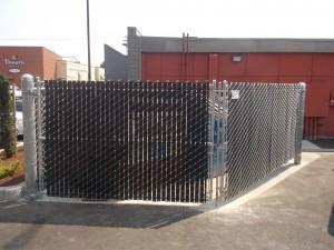 326-COM Trash enclosure, Panera Bread, Salem, Oregon