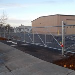 322- Commercial chain link fence & operator, Independence, Oregon