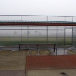 318-COM-chain link fence @ Baseball field