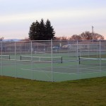 315-chain link tennis court