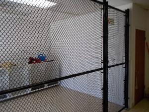 311-Commercial, Black chain link interior-Shaggy Dog, Dallas, Oregon