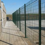295-Commercial woven wire fence