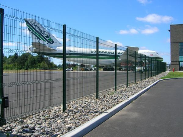 Welded Wire Commercial Fencing Salem Corvallis Outdoor