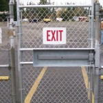 279 COM Chain Link security gate
