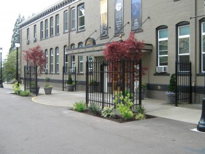 269 COM-ornamental iron , Corban University