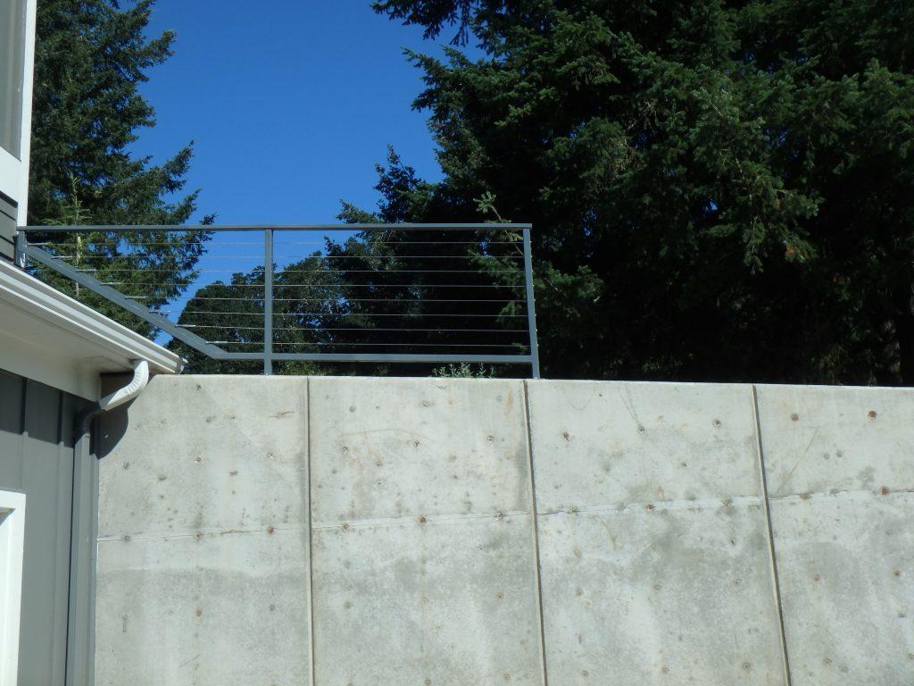Ornamental railing gate in salem oregon outdoor fence