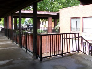 265 Commercial railing, St.Mary's church