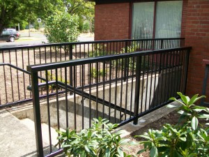 264 Commercial railing, St.Mary's church