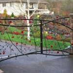 250 Custom ornamental iron gate, Salem, Oregon w/operator