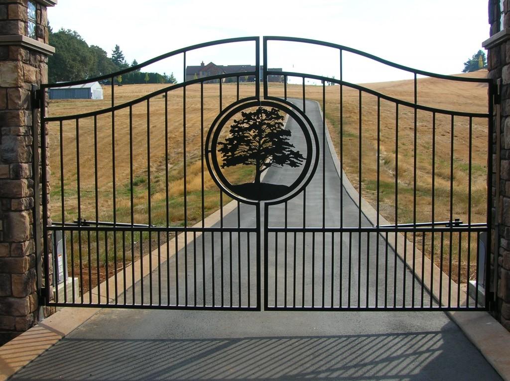 Ornamental Iron Gates Salem Corvallis Mcminnville