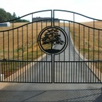 244 Custom ornamental gate w/operator, Salem, Oregon