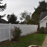 Oregon Residential Vinyl Fence Outdoor Fence