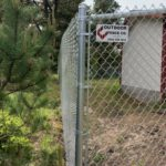 Pacific City Oregon Commercial Chain Link Fence Joint Water Sanitary Authority