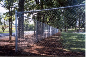 225 chain link fence for park