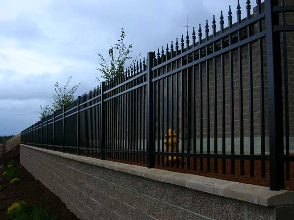 Ornamental Residential Fencing In Salem Albany Outdoor