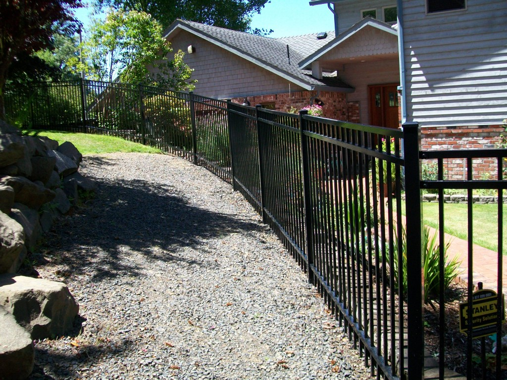 Ornamental Residential Fencing in Salem, Albany   Outdoor Fence