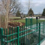 210 Ornamental Iron fence @ Keizer Station