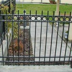 208 Ornamental Iron railing detail
