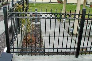 208 Ornamental Iron railing detail