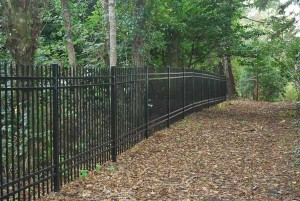 207 ornamental iron fence