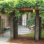 204 Custom ornamental iron fence w/gate