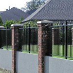 198 ornamental iron fence panel