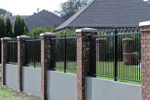 198 ornamental iron fence panel