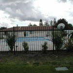 193 Ornamental Iron Fence pool enclosure
