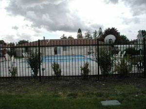 193 Ornamental Iron Fence pool enclosure