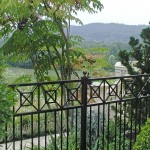 192: Custom ornamental iron fence