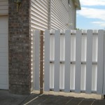 172 custom vinyl gate, Salem, Oregon
