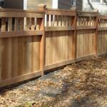 168 Custom wood fence