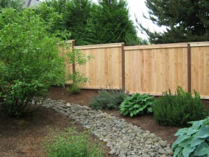 157 picture frame cap & trim privacy fence