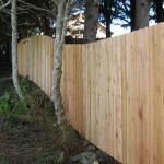 154 Dog eared one sided fence, Lincoln City, Oregon