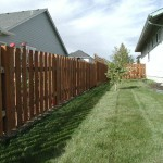 165 Good neighbor wood fence