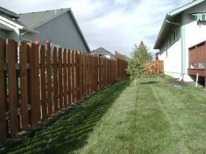 165 Good neighbor wood fence