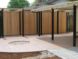 151 custom fence & arbor