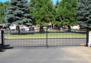 140 Design C-6 entry gate