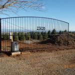 129 Custom ornamental iron gate & gate operator