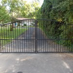 127 Design D-1 ornamental iron gate