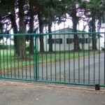 133 custom ornamental entry gate