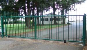 133 custom ornamental entry gate