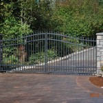 131 ornamental iron gate