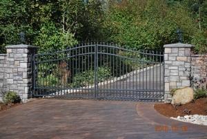 131 ornamental iron gate
