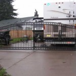 143 custom entry gate