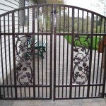 103 custom ornamental iron gate