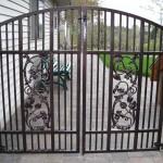 103 custom ornamental iron gate