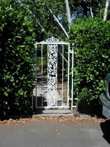 101 Custom ornamental walk gate