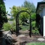 99 ornamental fence, gate and arbor
