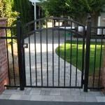 90 ornamental iron walk gate